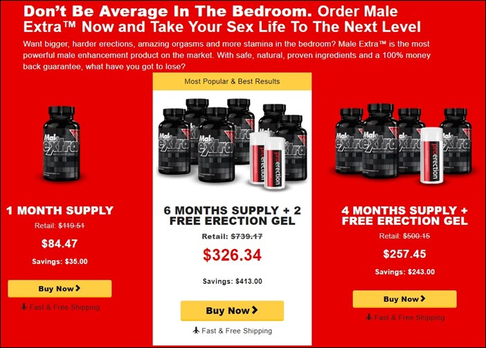 male extra - top offers - prices in aud - australia & nz
