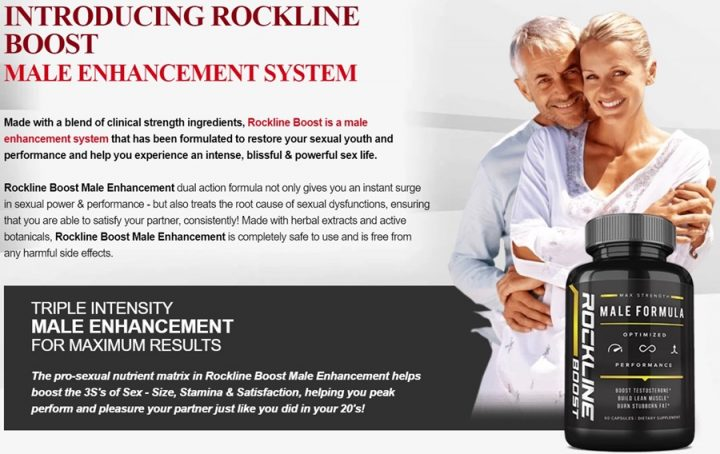 rockline boost - ultimate male enhancement supplement & testo booster in australia ever